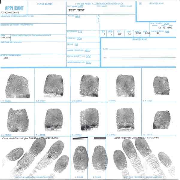 fingerprinting | AMERICAN HEALTH BIOMETRICS